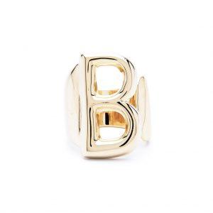 lettera b oro