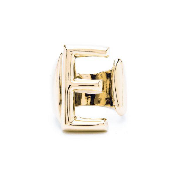 lettera e oro