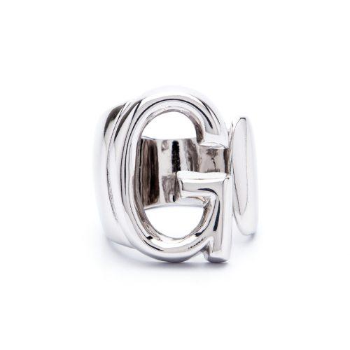lettera g argento