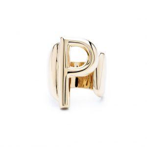lettera p oro