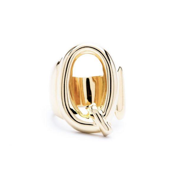 lettera q oro