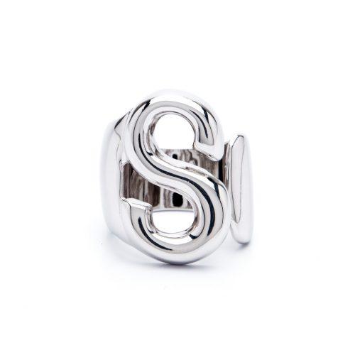 lettera s argento