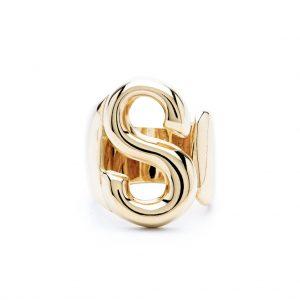 lettera s oro