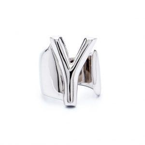 lettera y argento