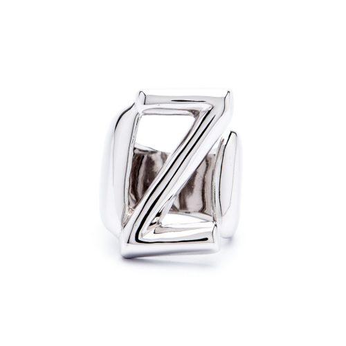 lettera z argento