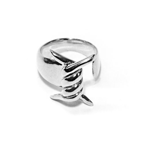 paradox anello argento