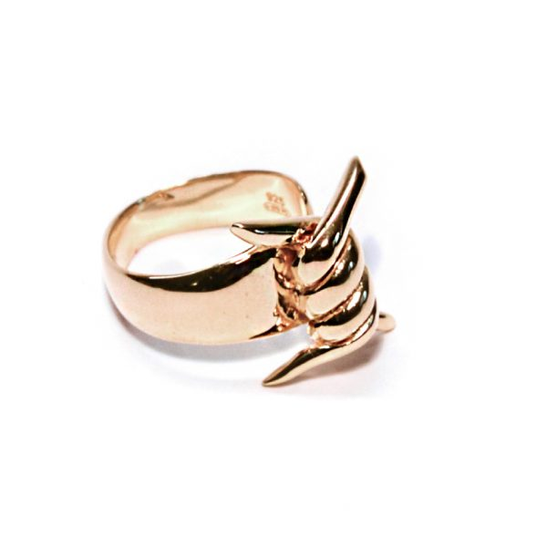 paradox anello oro dx