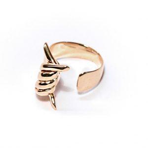 paradox anello oro sx