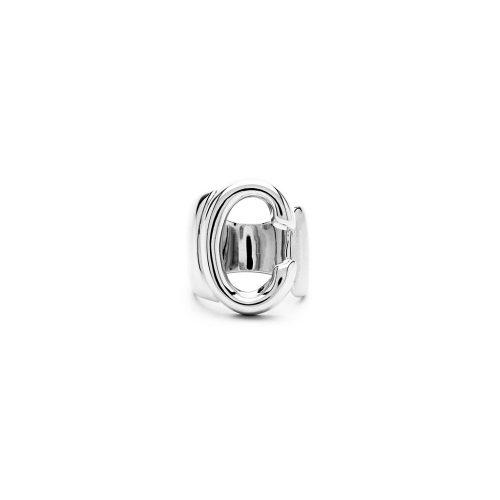 Aname-Alphabet-mini-Anello-C-silver-front