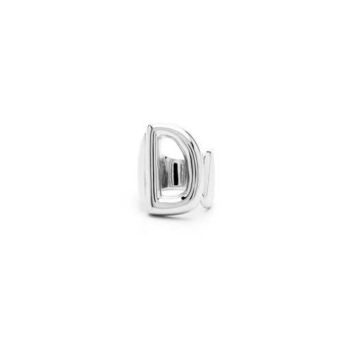 Aname-Alphabet-mini-Anello-D-silver-front