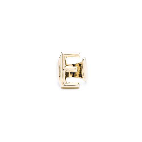 Aname-Alphabet-mini-Anello-E-gold-front