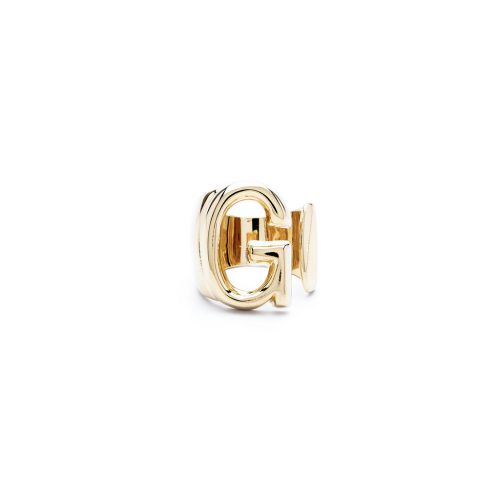 Aname-Alphabet-mini-Anello-G-gold-front