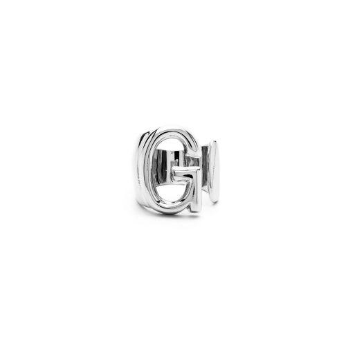 Aname-Alphabet-mini-Anello-G-silver-front