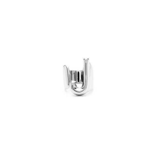 Aname-Alphabet-mini-Anello-J-silver-front
