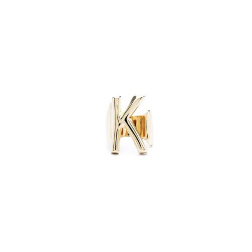 Aname-Alphabet-mini-Anello-K-gold-front