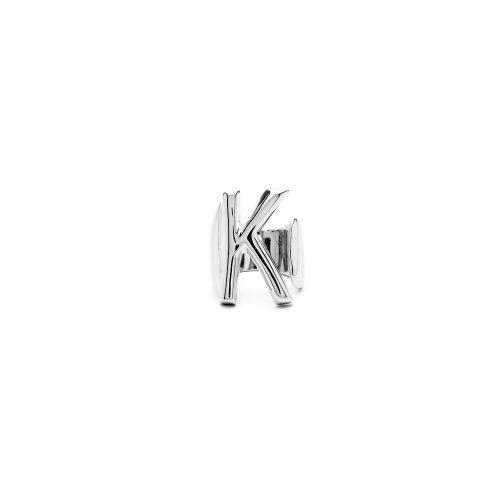 Aname-Alphabet-mini-Anello-K-silver-front