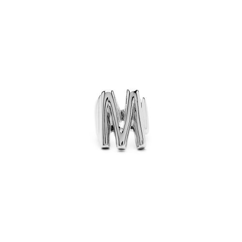 Aname-Alphabet-mini-Anello-M-silver-front