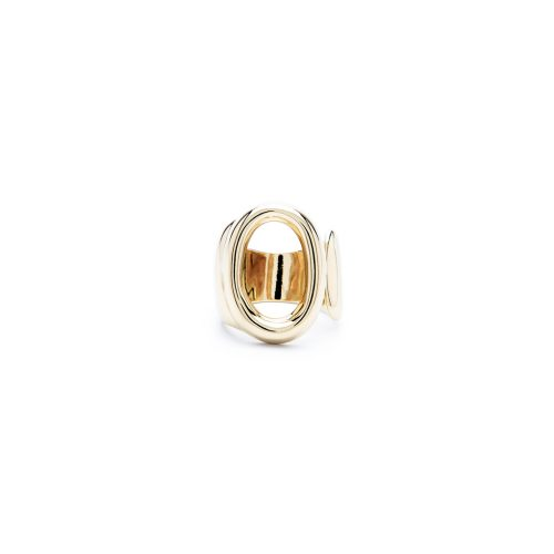Aname-Alphabet-mini-Anello-O-gold-front