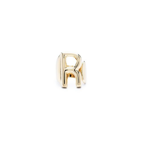 Aname-Alphabet-mini-Anello-R-gold-front
