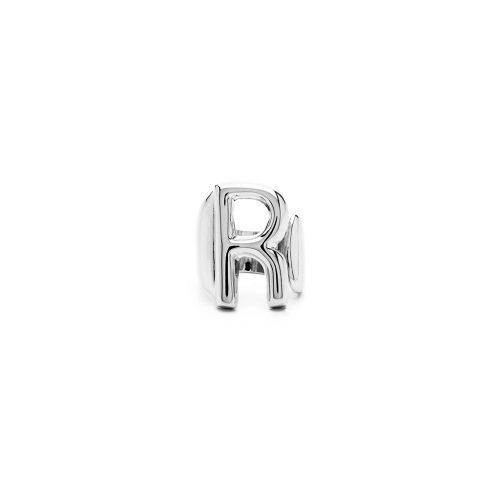 Aname-Alphabet-mini-Anello-R-silver-front