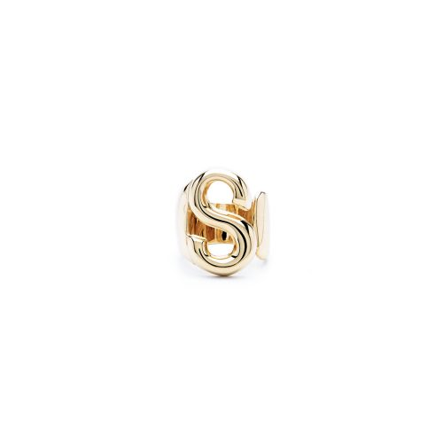 Aname-Alphabet-mini-Anello-S-gold-front
