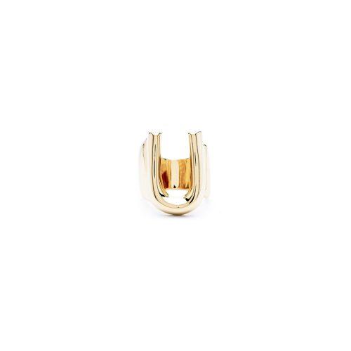 Aname-Alphabet-mini-Anello-U-gold-front