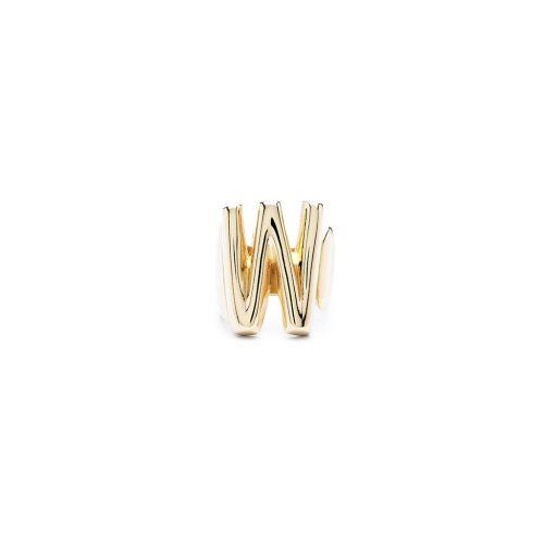 Aname-Alphabet-mini-Anello-W-gold-front