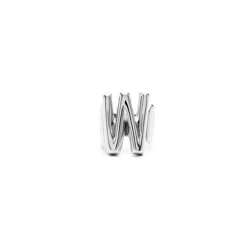 Aname-Alphabet-mini-Anello-W-silver-front