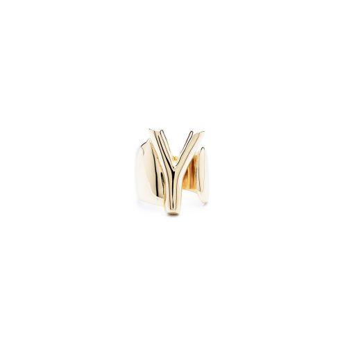 Aname-Alphabet-mini-Anello-Y-gold-front