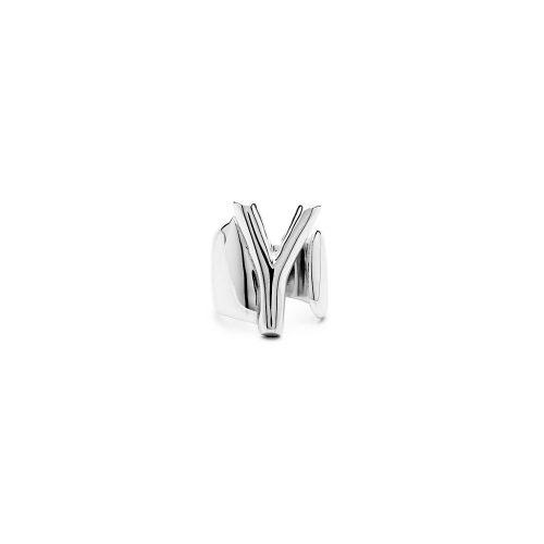 Aname-Alphabet-mini-Anello-Y-silver-front