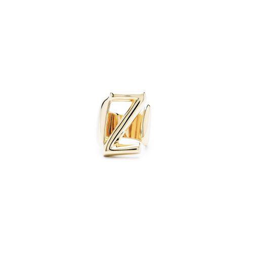 Aname-Alphabet-mini-Anello-Z-gold-front