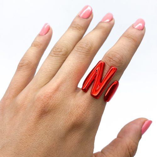 N red