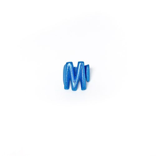 M blu metal