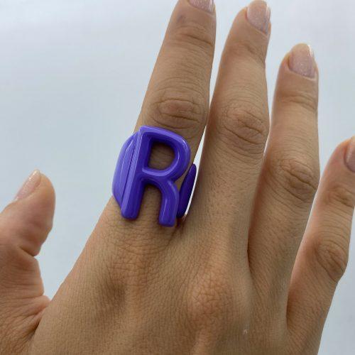 R purple aname