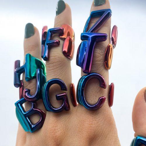 alphabet rainbow aname